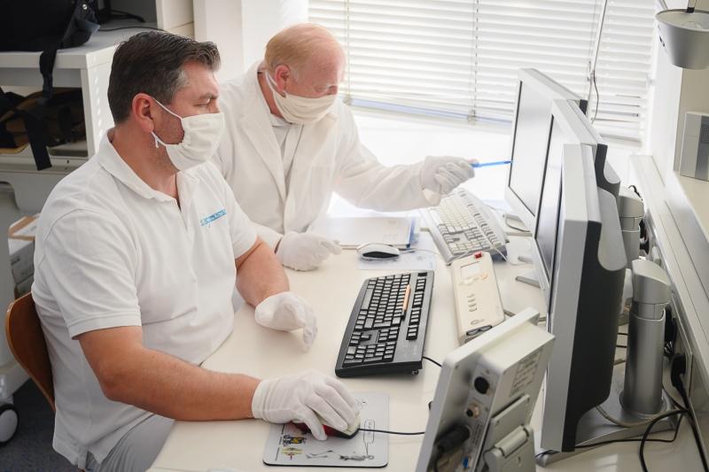 Arbeitsschutzmaßnahmen | Corona-Virus Prophylaxe | Praxis im KölnTriangle